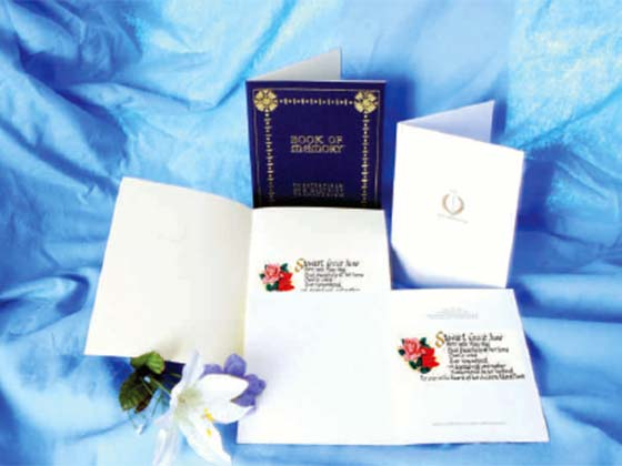 Memorial Cards and Books